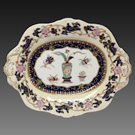 Fine Antique Mason's Chinese Antiquities Ironstone Tray or Small Platter