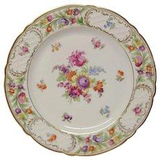 Schumann Empress Dresden Flowers Dinner Plate