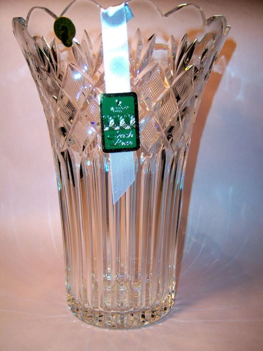 Waterford Crystal Romance Of Ireland Collectioin Irish Lace Vase