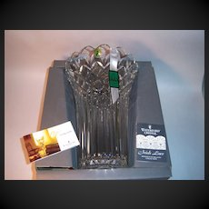 "Waterford Crystal ""Romance of Ireland"" Collectioin IRISH LACE Vase"