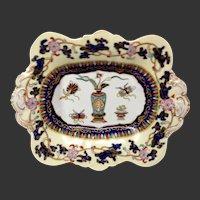 Stunning Mason's Antique Chinese Antiquities Pattern Ironstone Dessert Tray