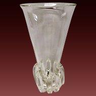 """Stunning Steuben 10"""" Lotus Vase"""