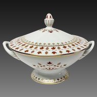 Haviland Parlon Matignon Rust Covered Tureen