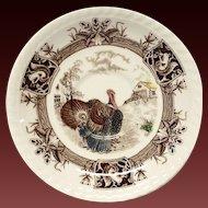 Johnson Bros. Barnyard King Turkey Saucer Only