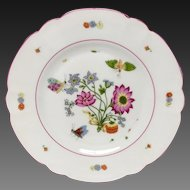 "Chas. Field Haviland ""Meissen"" Salad Plate For MMA"