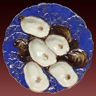 Haviland & Co. Turkey Oyster Plate