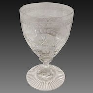 Stunning Willaim Yeoward Pearl Small Wine Goblet