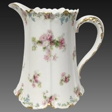 Gorgeous GDA Charles Field Haviland Limoges Large Water Pitcher