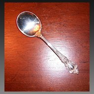 Lunt Eloquence Sterling Round Cream Soup