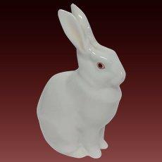 Herend Standing White Rabbit Figure 5327