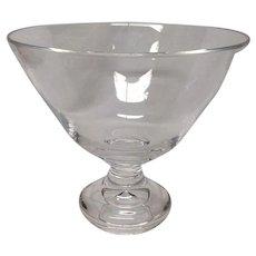 Large Steuben Mid Century Teardrop Bowl 8024