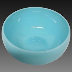 Portieux Vallerysthal (P V) Blue Opaline Dessert Bowl (s)