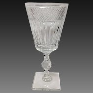 Stunning Hawkes Crystal Donisel #6015 Water Goblet(s)