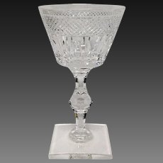 Stunning Hawkes Crystal Donisel #6015 Champagne or Sherbet(s)