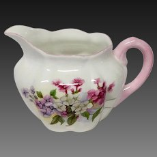 Shelley Stocks Pattern Creamer, Dainty Shape