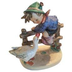 "Adorable Hummel ""Barnyard Hero"" Figurine 195/1 TMK 6"