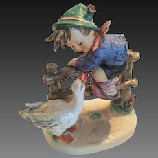 "Adorable Hummel ""Barnyard Hero"" Figurine 195/1 TMK 6"