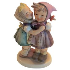 "Adorable Hummel ""Telling Her Secret"" Figurine 196/0 TMK 6"