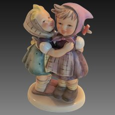"Adorable Hummel ""Telling Her Secret"" Figurine 196/0 TMK 6"