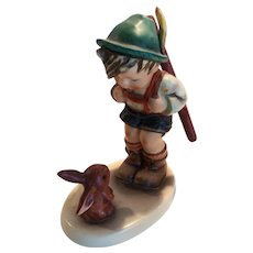"Adorable Hummel ""Sensitive Hunter"" Figurine #6/I TMK 6"