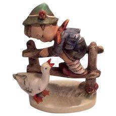 "Adorable Hummel ""Barnyard Hero"" Figurine TMK 3"