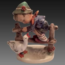 "Adorable Hummel ""Barnyard Hero"" Figurine TMK 3"