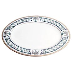 Christian Dior Florissant China Oval Platter