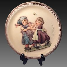 """Hummel 2nd Annual Anniversary """"Spring Dance"""" Collectors Plate 1980"""