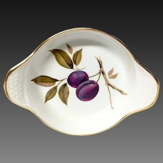 Royal Worcester Evesham Individual Augratin Dish, England