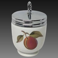 Royal Worcester Evesham Egg Coddler