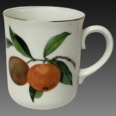 Royal Worcester Evesham Gold Mug(s) England
