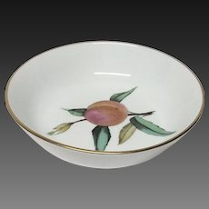 Royal Worcester Evesham Gold Fruit Bowl(s) England