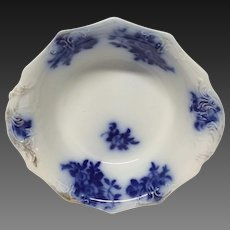 GIRONDE Flow Blue  Round Vegetable Bowl by W.H.Grindley & Co.