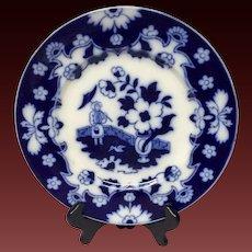 Lovely Royal Staffordshire Pekin Flow Blue Dinner Plate