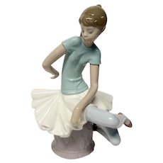 "Lladro ""Julia"" #1361  Seated Ballerina"