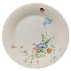 "Mikasa ""Something Blue"" Bone China Dinner Plate"