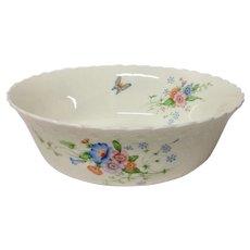 "Mikasa ""Something Blue"" Bone China Round Vegetable Bowl"