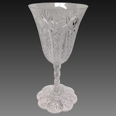 Stunning Baccarat Conde Tall Water Goblet