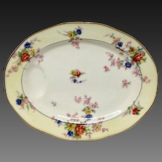 "Theodore Haviland France ""Jewel"" Large Oval Platter"