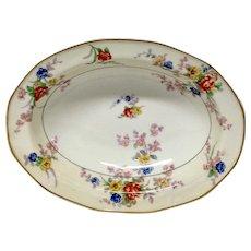 "Theodore Haviland France ""Jewel""Oval Vegetable Bowl"