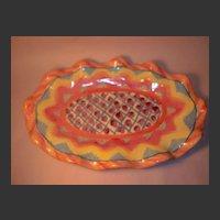 MacKenzie-Childs Keukenhof Large Platter