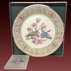 Lenox Boehm Bird Collector Series a Mountain Bluebird Plate