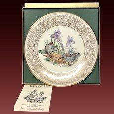 Lenox Boehm Bird Collector Series Golden-Crowned Kinglet Plate
