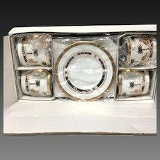Set (4) Christain Dior Casablanca Demitasse New