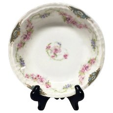 Rare Theodore Haviland China Pattern Schleiger 1066-1 Coupe Soup or Cereal Bowl