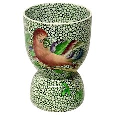 "Exotic Spode ""Parrot"" Double Egg Cup(s)"