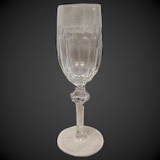 Lovely Waterford Curraghmore Champagne Flute