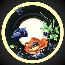H. Aitken Syracuse China Nature Series Poppy Plate 10