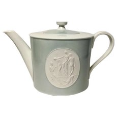 Royal Berlin, KPM Gray Rim Arkadia  Tea Pot