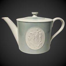 Royal Berlin, KPM Gray Rim Arkadia  Tea Pot